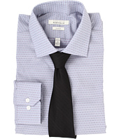 Perry Ellis - Slim Fit Wrinkle Free Dobby L/S Dress Shirt
