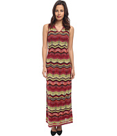 M Missoni - Multi Zig Zag Maxi Dress