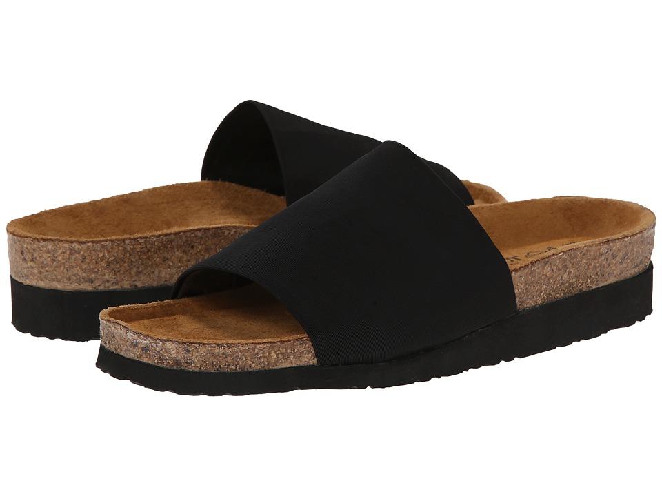 Naot Footwear - Ipanema (Black Stretch) Women