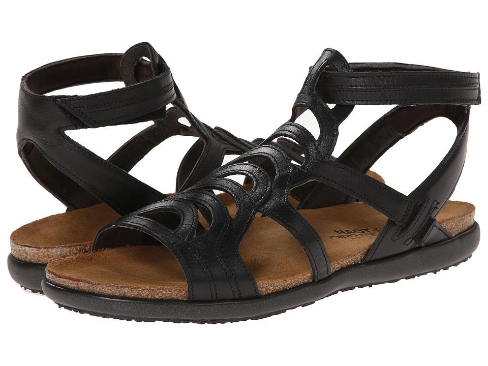 Naot Sara (Black Raven Leather) Women's Shoes