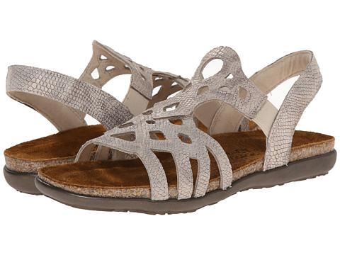 Naot Footwear Rebecca - Beige Snake Leather