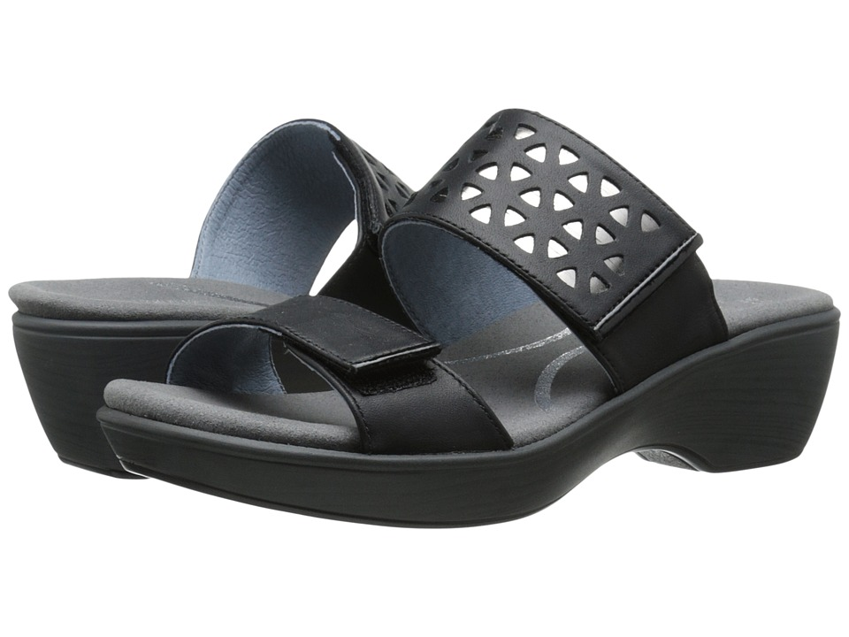 Naot Footwear Moreto (Jet Black Leather/Glass Silver/Black Patent Leather) Women