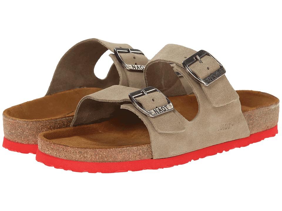 Naot Footwear Santa Barbara (Sand Suede) Sandals