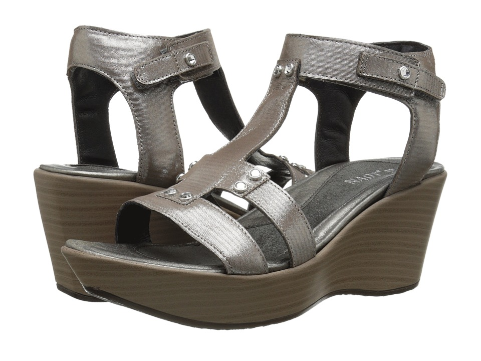 Naot - Valencia (Silver Threads Leather) Womens Sandals