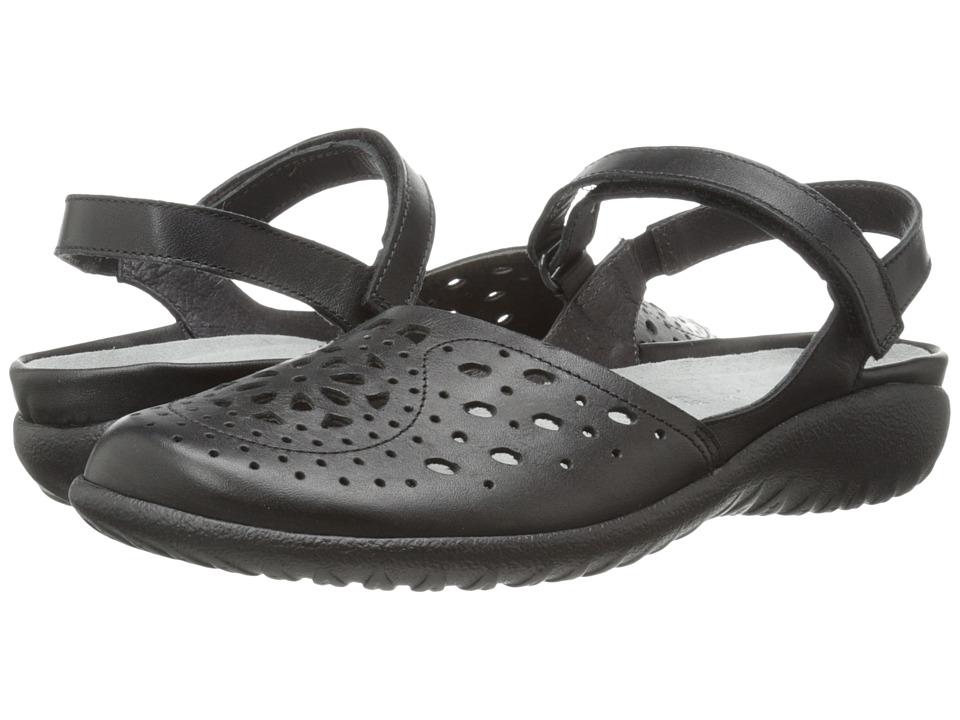 Naot Footwear - Arataki (Black Raven Leather) Women