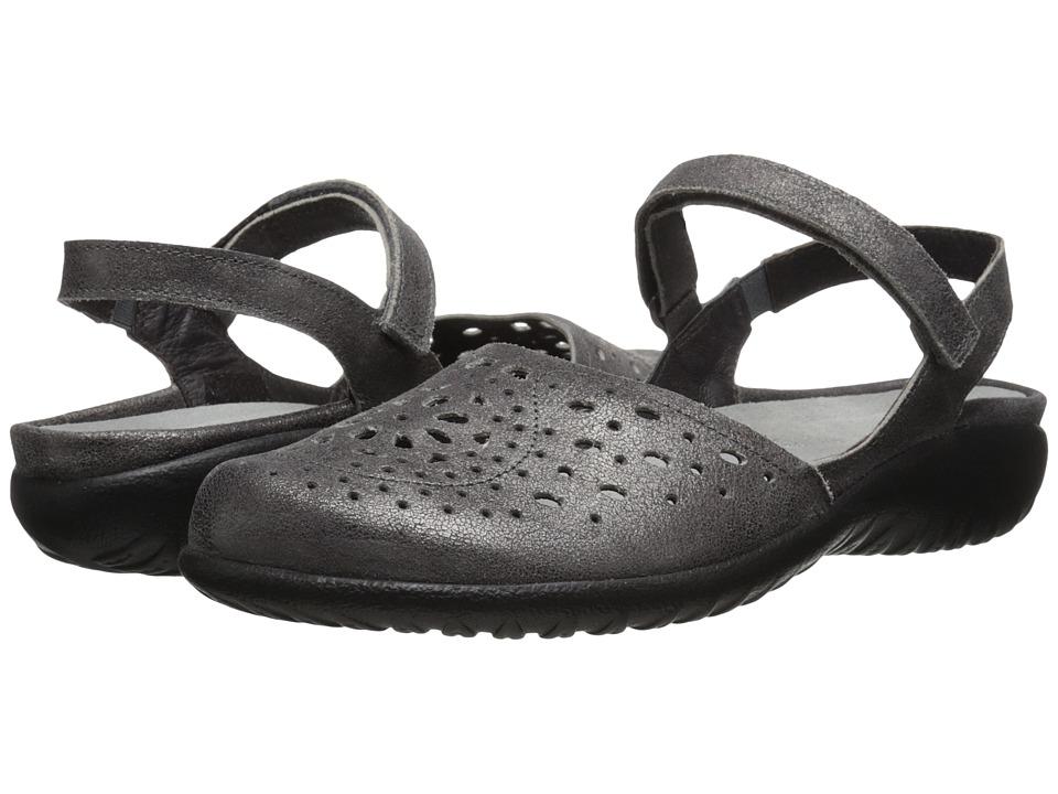 Naot Footwear - Arataki (Gray Shimmer Leather) Women