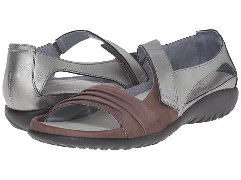 Naot Footwear Papaki - Shiitake Nubuck/Sterling Leather
