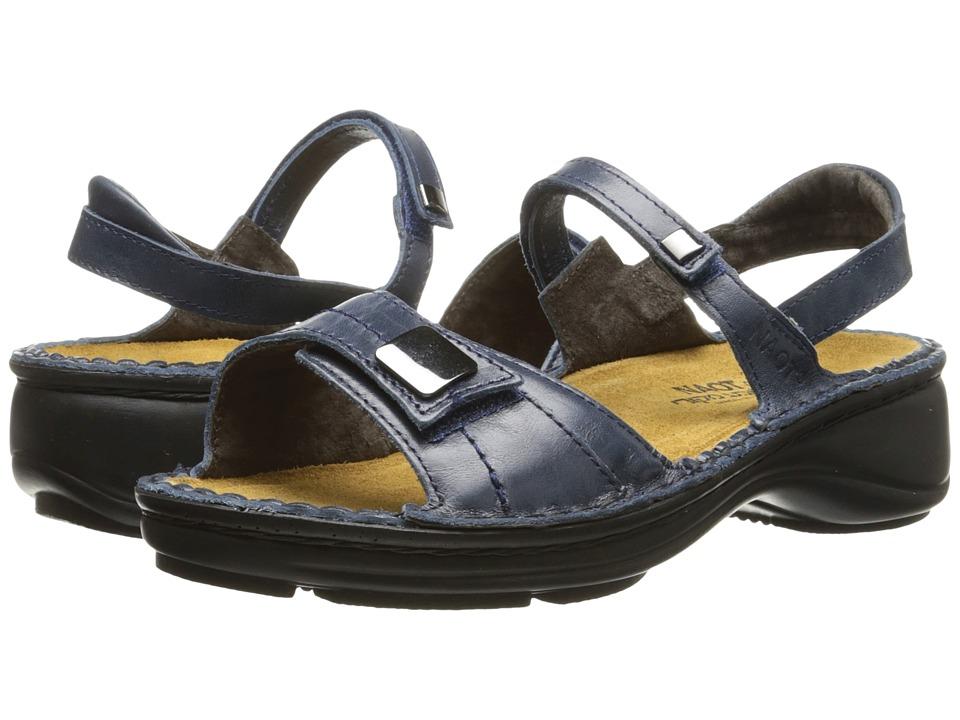 Naot Footwear Papaya (Ink Leather) Sandals