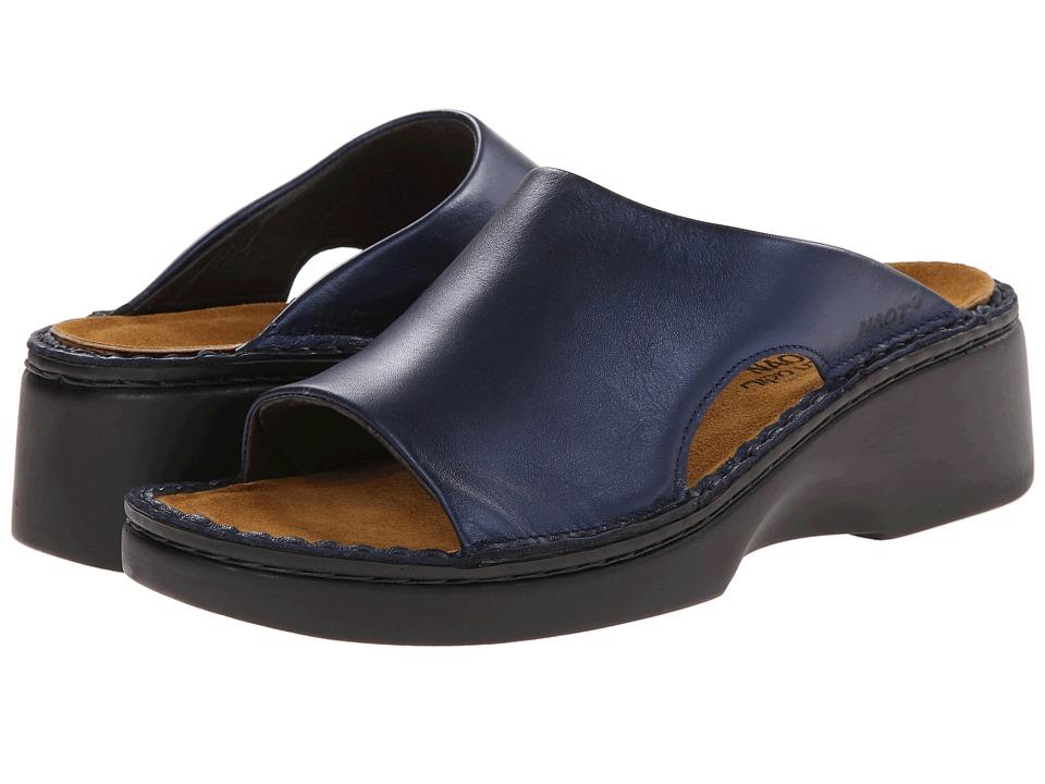 Naot Rome (Polar Sea Leather) Slip-On Shoes