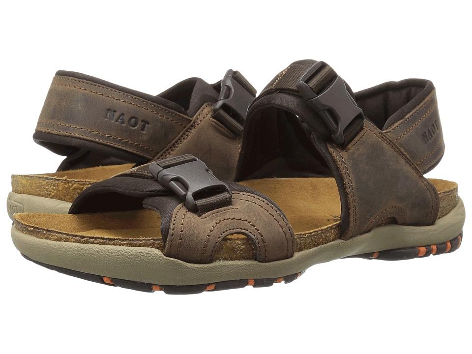 Naot Footwear Explorer Bison Leather 1 Mens Shoes