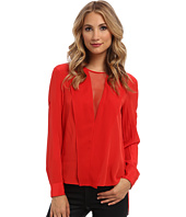 BCBGMAXAZRIA - Marrisa V-Neck Blouse