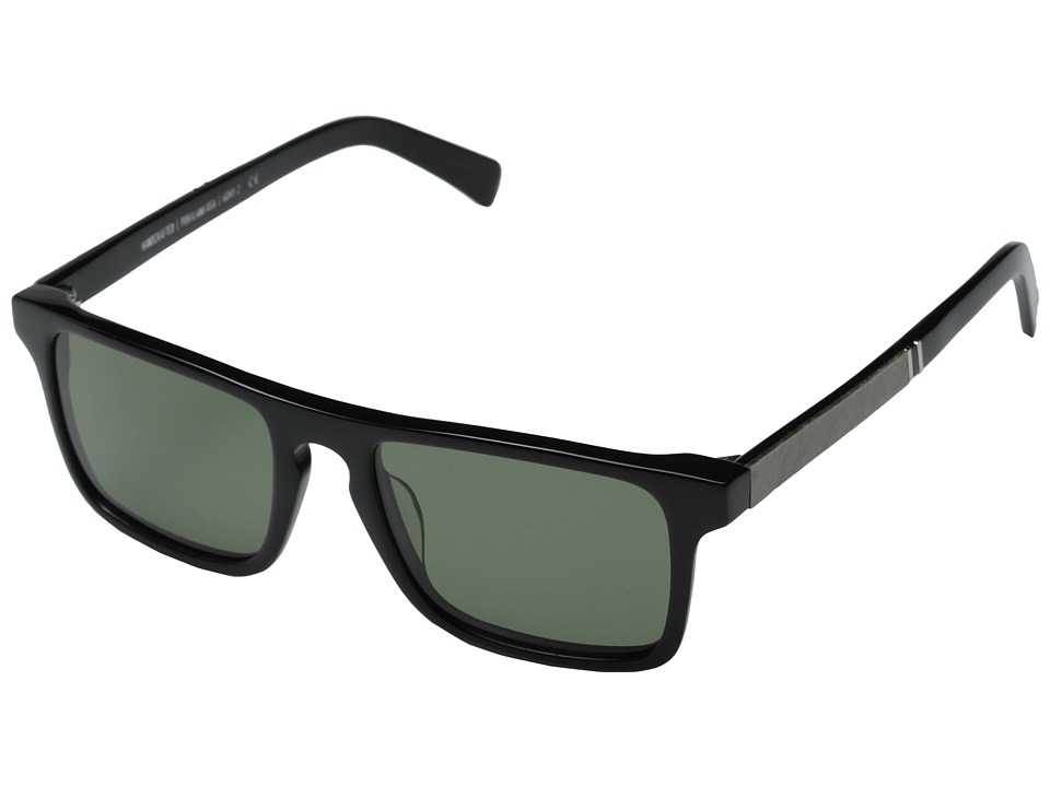 Shwood Govy 2 Fifty Fifty Polarized Black/White Slate/G15 Polarized Fashion Sunglasses