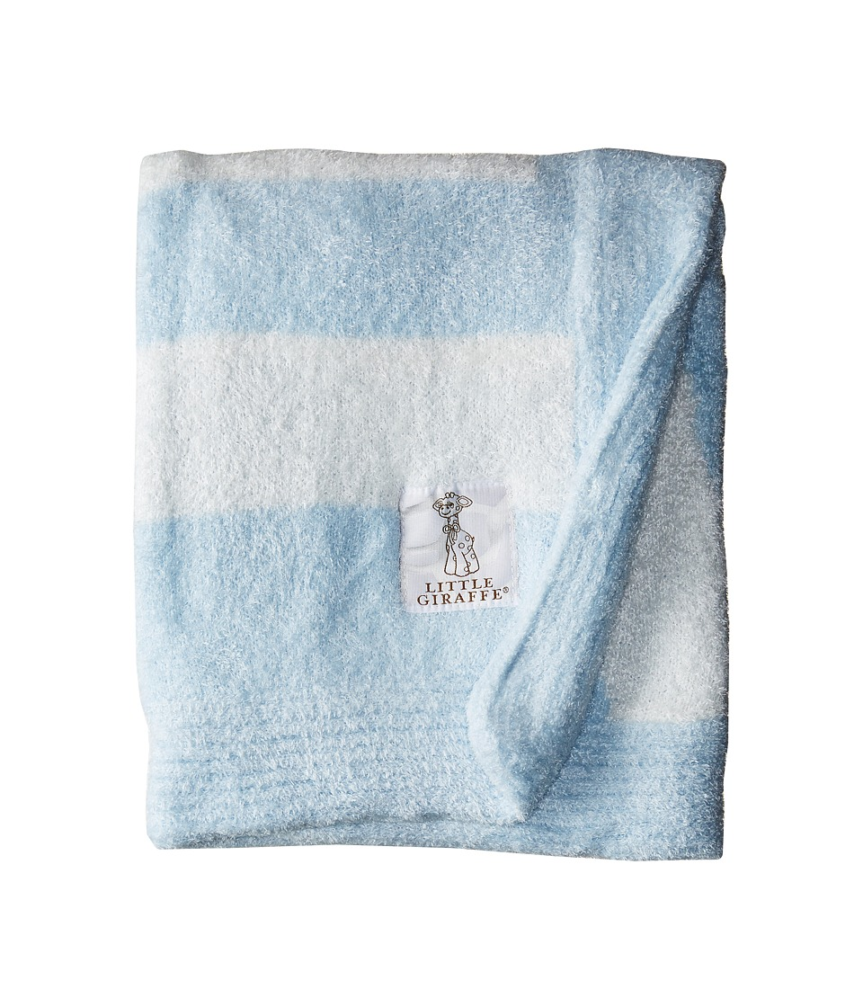 Little Giraffe Dolce Love Blanket (Blue) Sheets Bedding