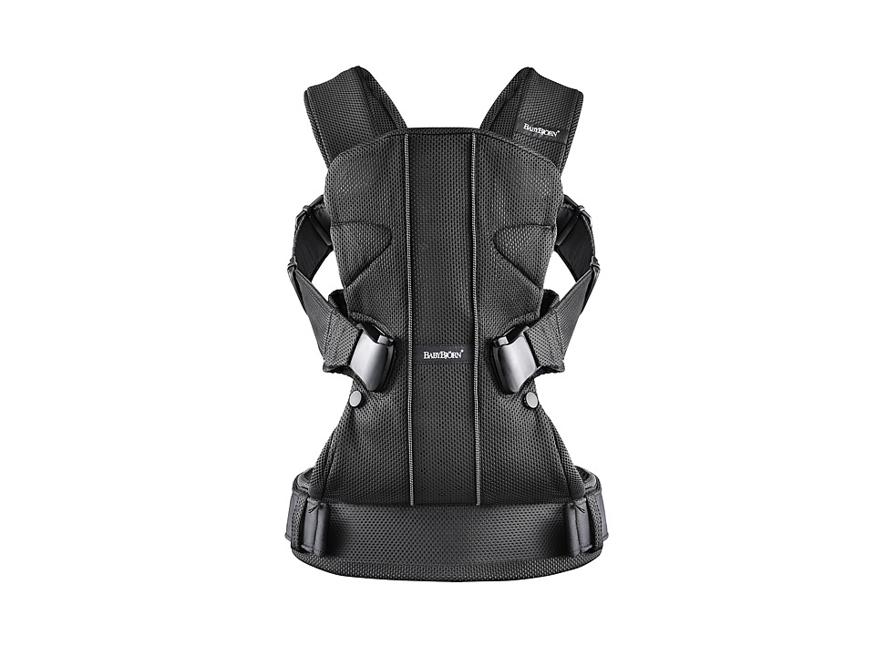 BabyBjorn Baby Carrier ONE Black Mesh Carriers Travel
