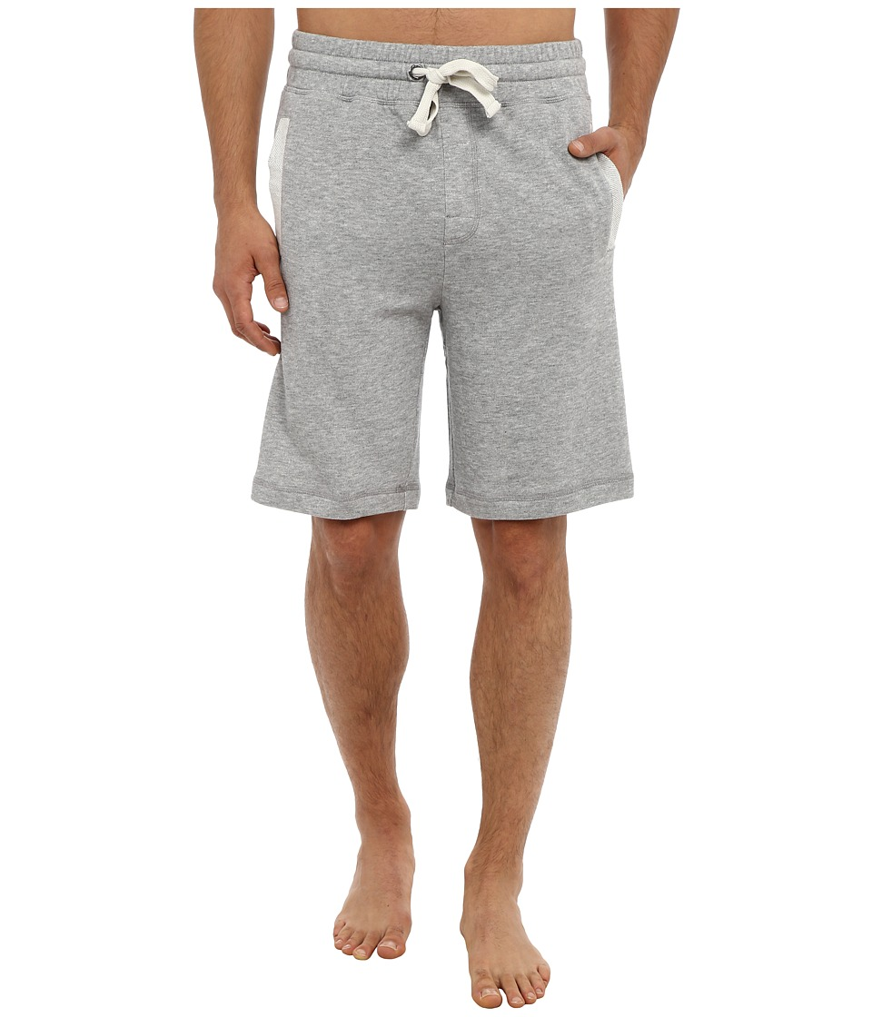 2(X)IST - Core Terry Short (Light Grey Heather) Mens Shorts