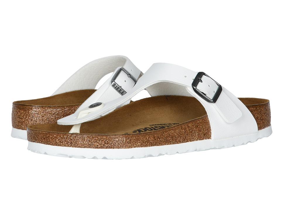 Birkenstock Gizeh (White Birko-Flor ) Sandals