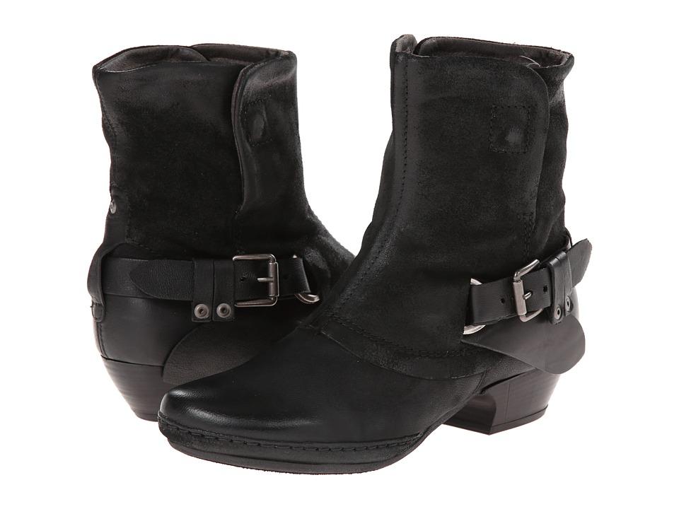 Miz Mooz - Evelyn (Black) Cowboy Boots