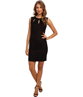 Laundry by Shelli Segal - Foiled Ponte w/ Cutout Dress