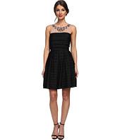 BCBGMAXAZRIA - Marina Woven Evening Dress