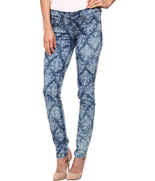Request - Bleached Out Print Jeans in Wave Damask