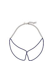Marc by Marc Jacobs - Key Items Rubberized Wireframe Collar Necklace