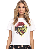 RED VALENTINO - Lip and Frog Tee