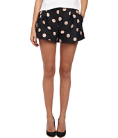 RED VALENTINO - Macro Polka Dots Brocade Shorts