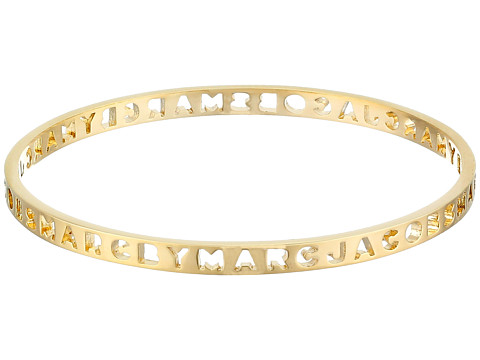 Marc by Marc Jacobs New Classic Marc Tiny Cut It Out Logo Bangle