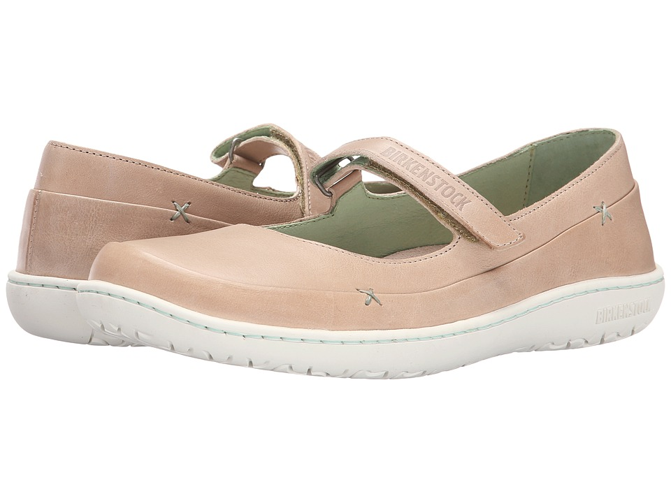Birkenstock Iona (Beige Leather) Women
