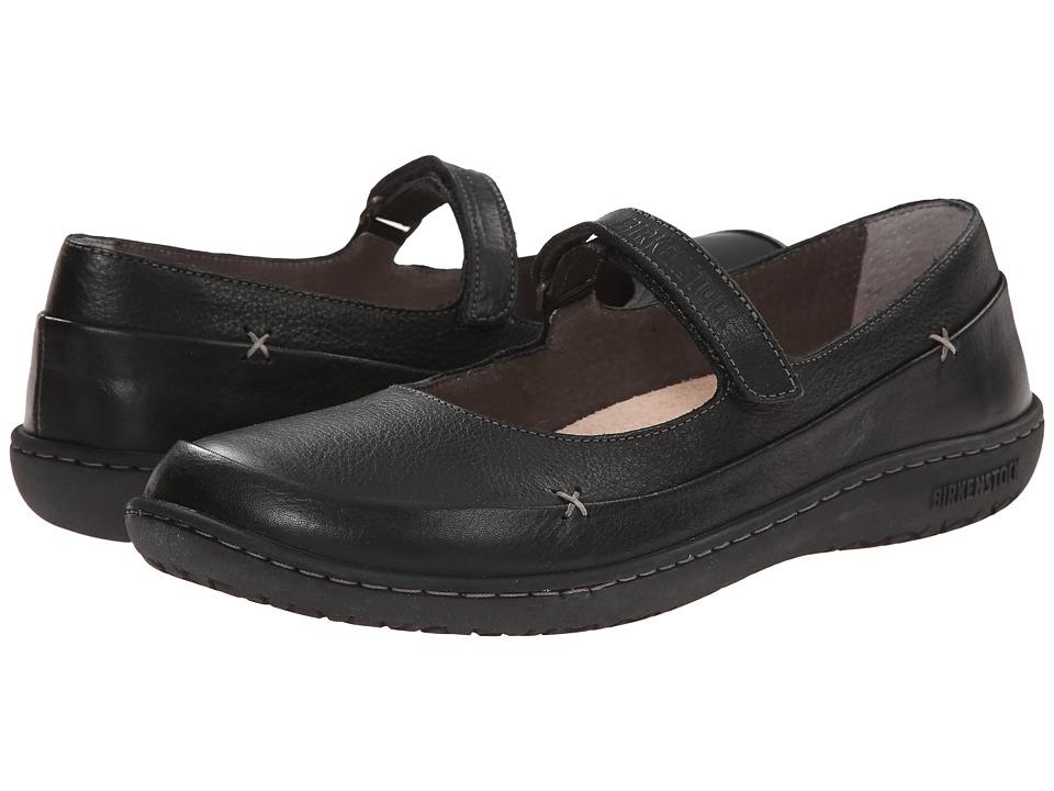 Birkenstock Iona (Black Leather) Maryjanes