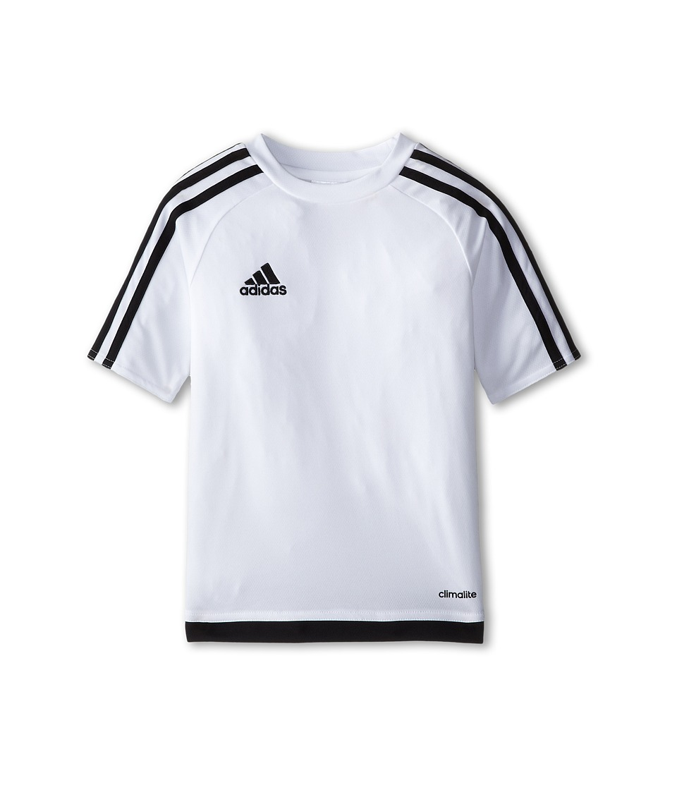 adidas Kids - Estro 15 Jersey (Little Kids/Big Kids) (White/Black) Kid