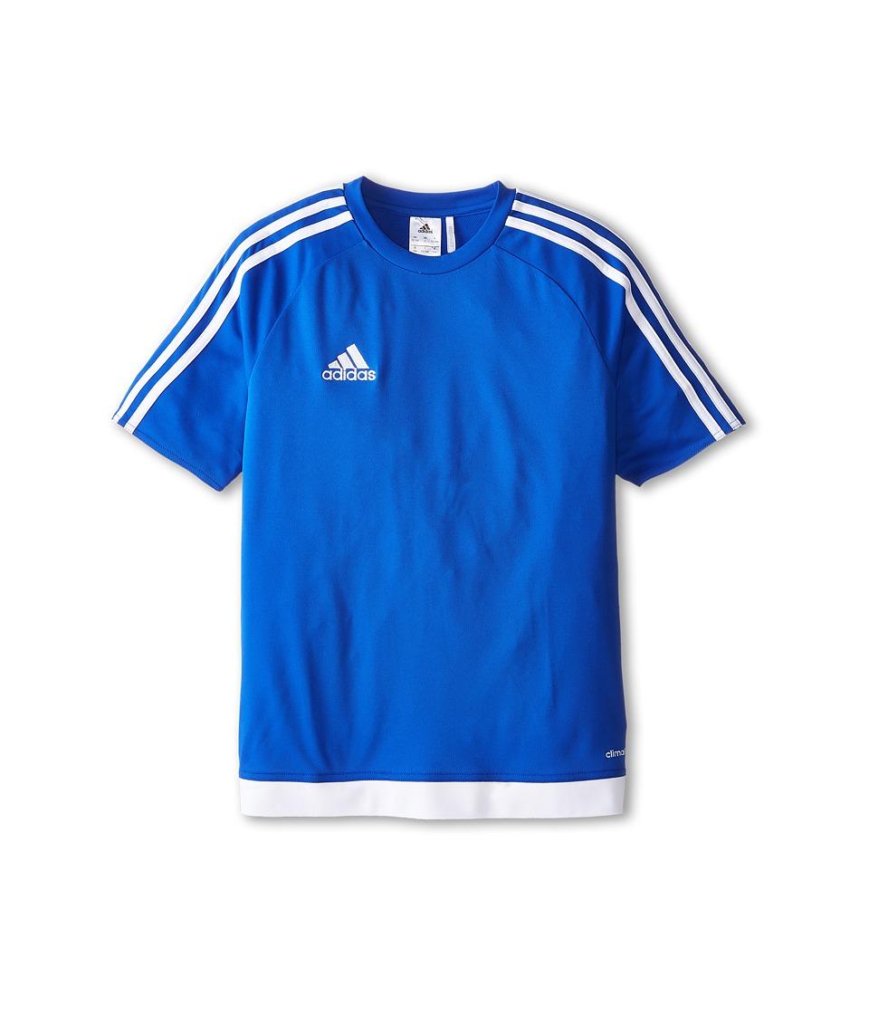 adidas Kids Estro 15 Jersey (Little Kids/Big Kids) (Bold Blue/White) Kid