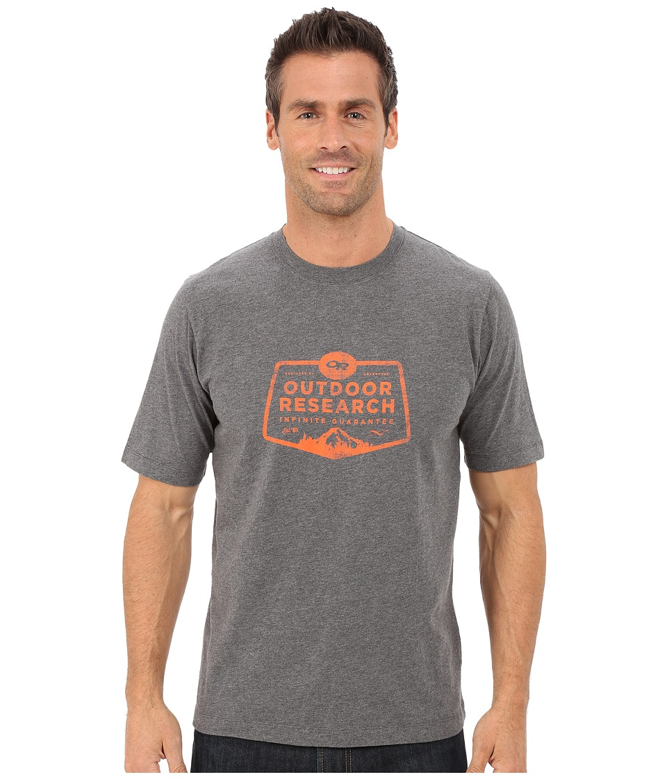 Outdoor Research Bowser Tee (Charcoal Heather) Men