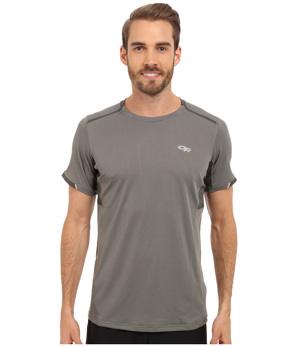 Outdoor Research - Octane S/S Tee (Pewter/Charcoal) Men