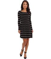 Eliza J - Long Sleeve Knit Fit & Flare Dress