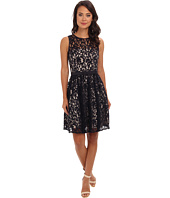 Eliza J - Sleeveless Lace Fit & Flare Dress