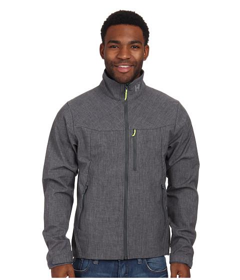 helly hansen paramount softshell jacket grey melange. Black Bedroom Furniture Sets. Home Design Ideas