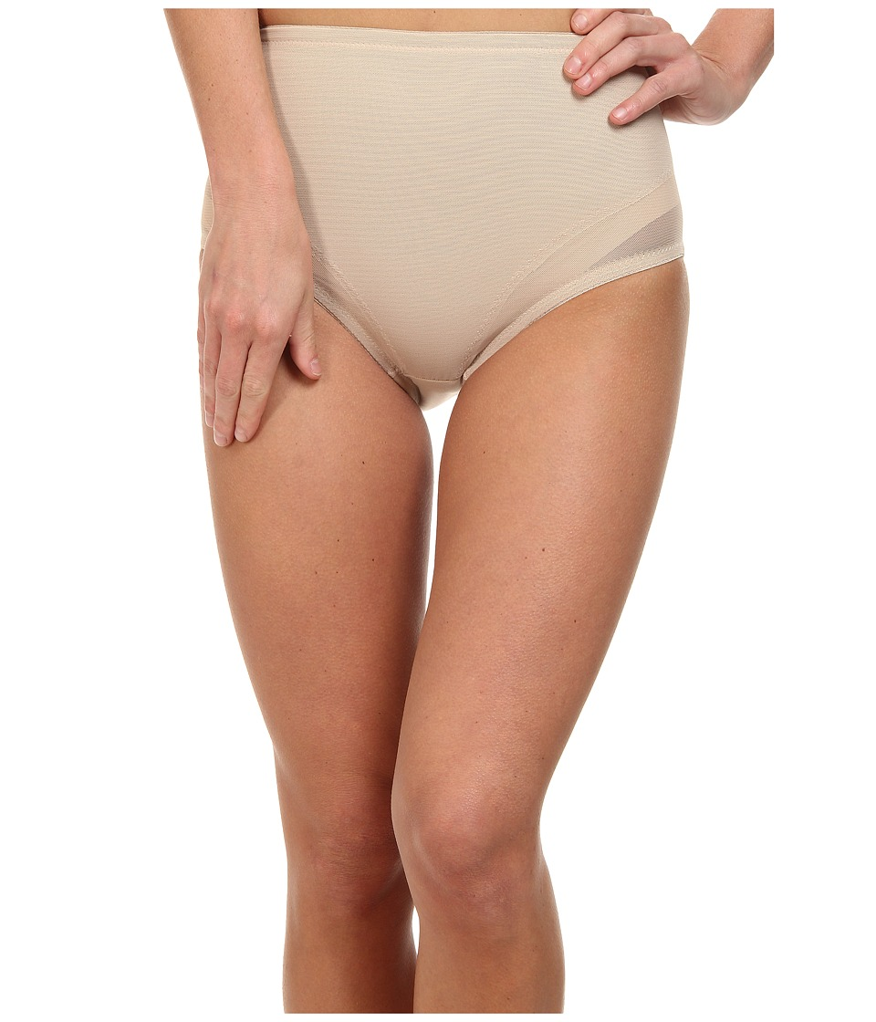 Miraclesuit Shapewear Extra Firm Sexy Sheer Waistline Brief Nude Womens Underwear