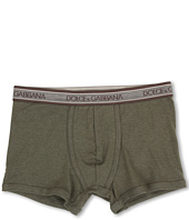 Dolce & Gabbana - Rib 2x2 Stretch Cotton Regular Boxer