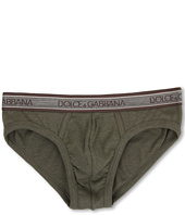 Dolce & Gabbana - Rib 2x2 Stretch Cotton Medium Brief
