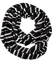 Calvin Klein - Eyelet Stripe Infinity Scarf