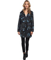 Vera Wang - Watercolor Rose Nylon Parka
