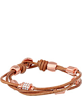 Fossil - Barrel Leather Bracelet