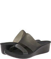 Crocs - Color Block Translucent Mini Wedge