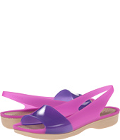 Crocs - Color Block Translucent Slingback Flat