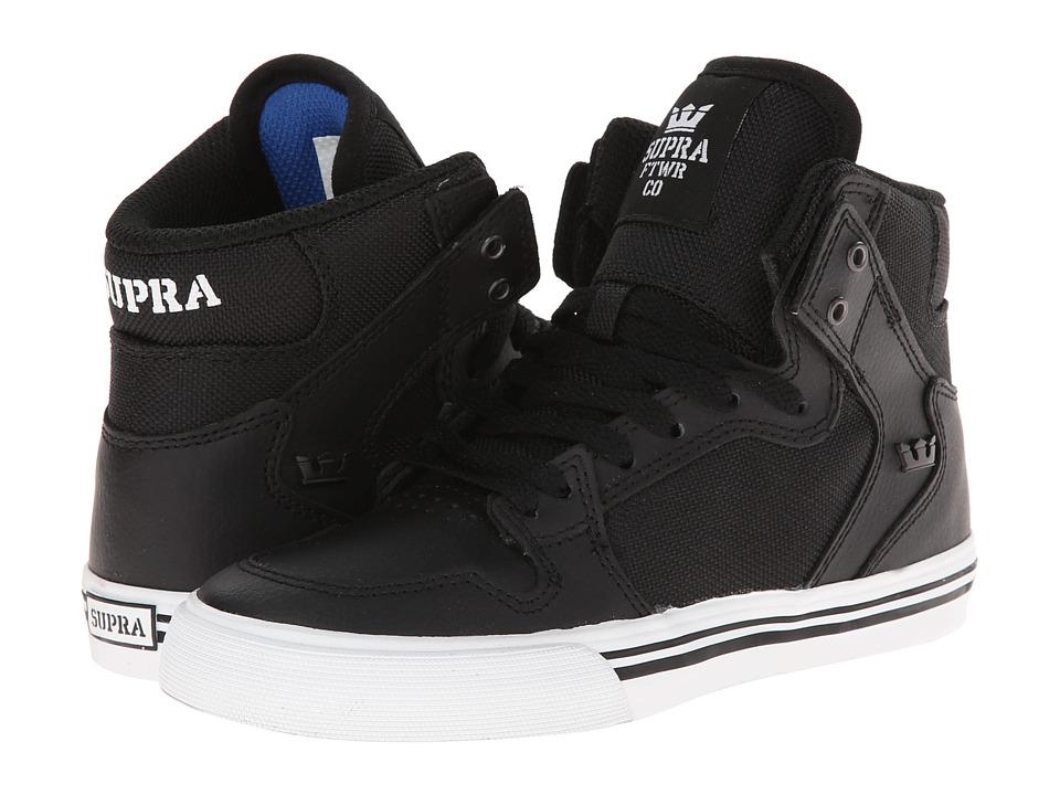 Supra Kids Vaider Little Kid/Big Kid Black/Black Boys Shoes