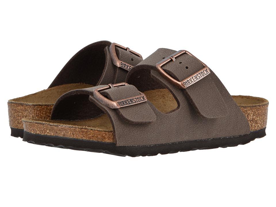 Birkenstock Kids - Arizona (Toddler/Little Kid/Big Kid) (Mocha Birkibuc) Girls Shoes