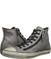 Converse by John Varvatos - Chuck Taylor All Star Double Zip Silver Brushed Leather