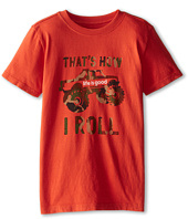 Life is good Kids - How I Roll Truck Easy Tee (Little Kids/Big Kids)
