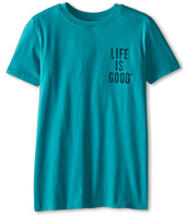 Life is good Kids - Giant Jake Baseball Easy Tee (Little Kids/Big Kids)
